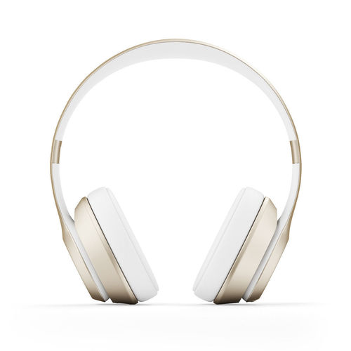 Golden headphones3D model