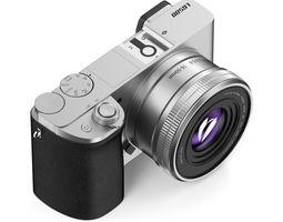 silver digital camera 3d model max obj fbx c4d