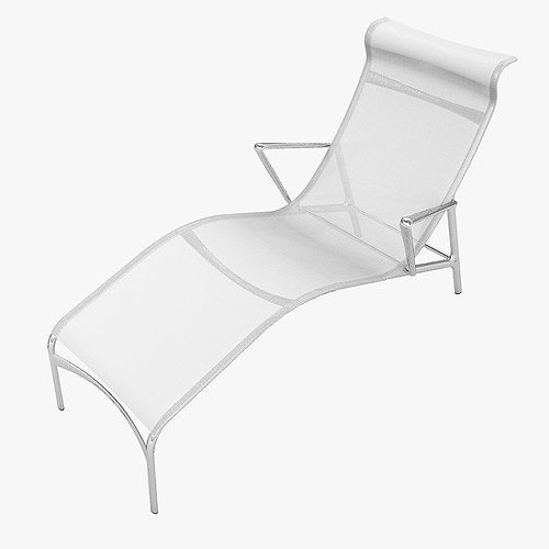 Chaise longframe alberto meda 3d model max for Chaise modele