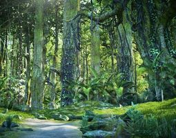 Forest Sence 3 3D model