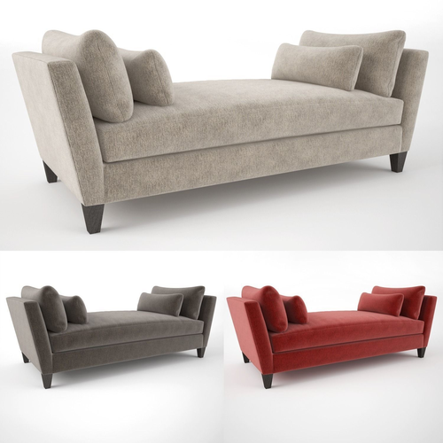 Crate and Barrel Marlowe Daybed Sofa3D model