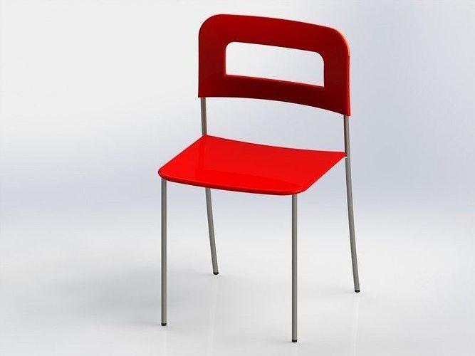 Chair stoel stuhl 3d cgtrader - Vat stoel ...