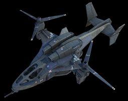 UH-144 HQ-3d model 3D Model