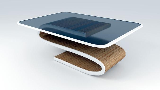 Modern Dining Table3D model