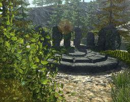 Fantasy Ruins Pack 3D