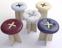 bar-stool 3D model bar chair