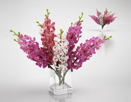 Flower bouquet 3D