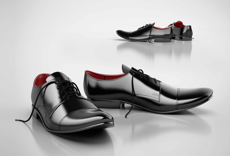 formal shoes 3d model max obj 3ds c4d cgtrader