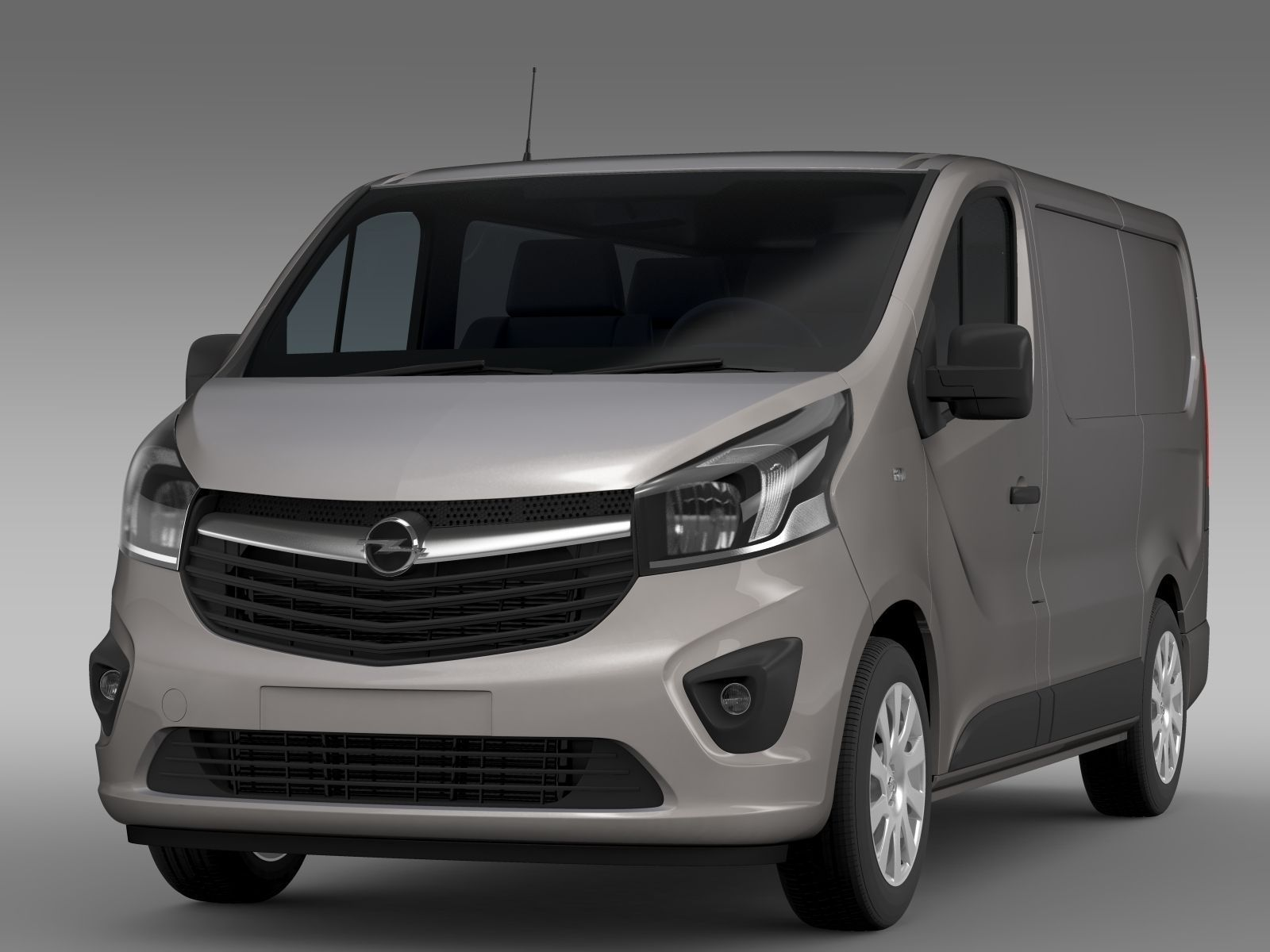 opel vivaro van 2015 3d model max obj fbx c4d lwo lw lws ma mb. Black Bedroom Furniture Sets. Home Design Ideas