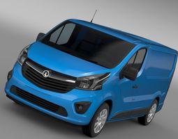 Vauxhall Vivaro Van 2017 3D model