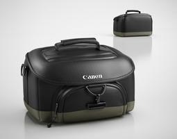 camera bag 3d model