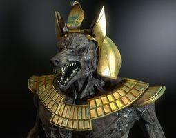 Anubis model 3D Model
