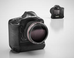 canon digital camera 3d model max obj 3ds c4d
