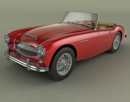 Austin-Healey 3000 Mk2 3D Model