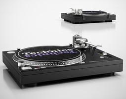 DJ set 3D Model