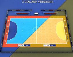 Futsal court arena 3D model