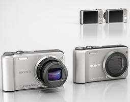 digital camera 3d model max obj 3ds c4d