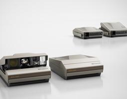 classic camera 3d model max obj 3ds c4d