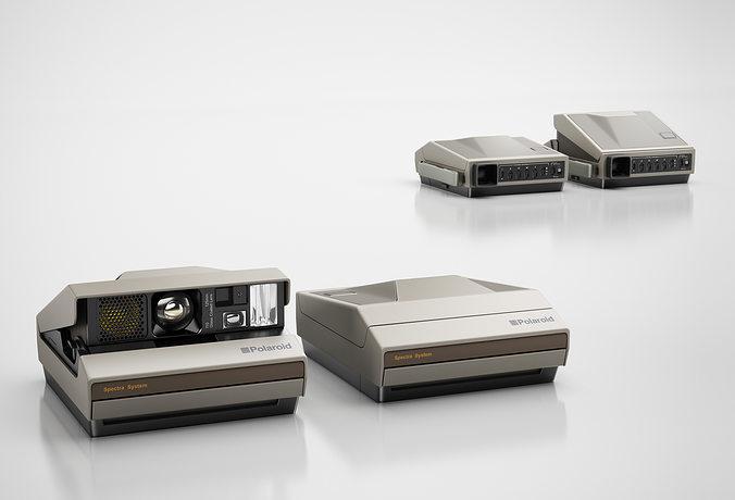 classic camera 3d model max obj 3ds c4d mtl 1