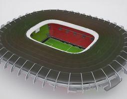3D model Stadium HQ