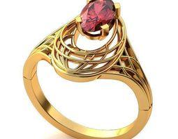 Ring gold 3d 3D printable model