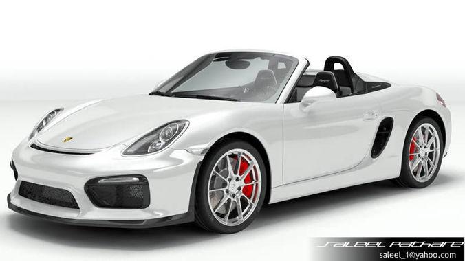 Porsche Boxster Spyder 20153D model