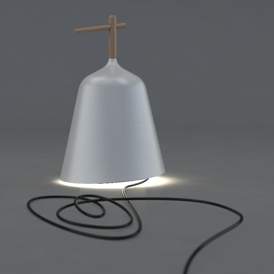 Table lamp and wall lamp Sous Mon Arbre by... 3D Model MAX OBJ FBX CGTrader.com