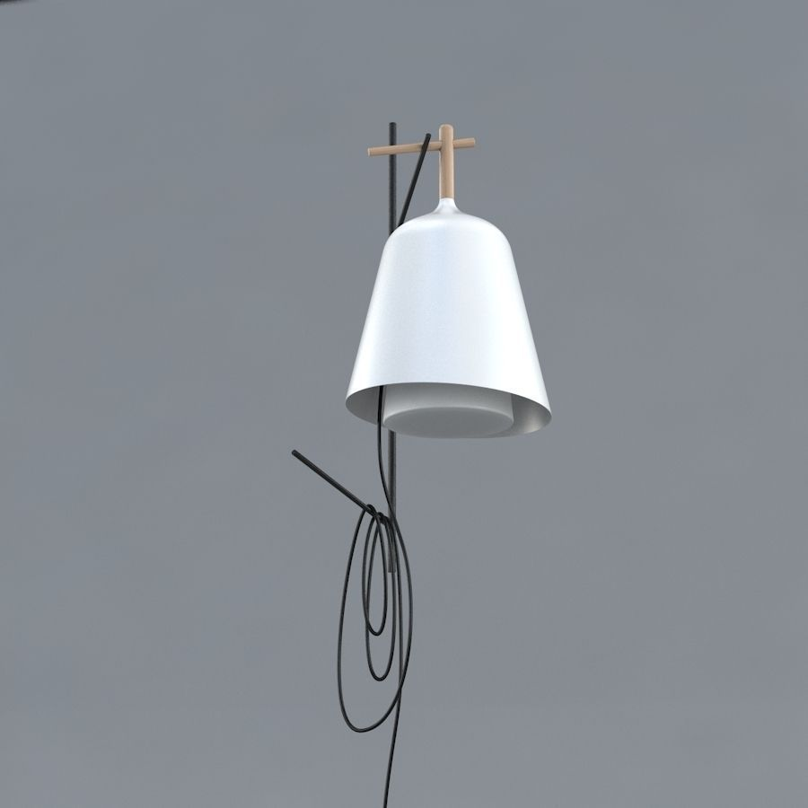 Wall Lamps 3d Model : Table lamp and wall lamp Sous Mon Arbre by... 3D Model MAX OBJ FBX - CGTrader.com