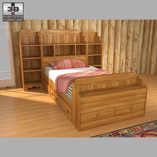 Bedroom Furniture 3d Models 3d asset bedroom furniture 13 set | cgtrader
