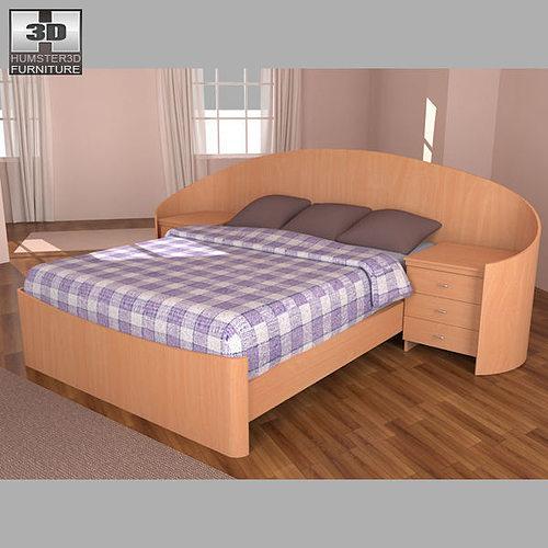 Bedroom Furniture 3d Models 3d model bedroom furniture 16 set | cgtrader