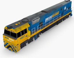 NR57 Australian Locomotive 3D Model