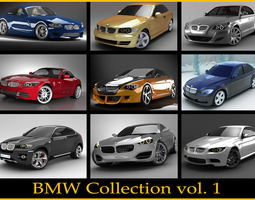 BMW collection vol 1 3D Model