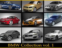 BMW collection vol 1 3D Model