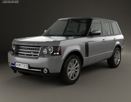 land rover range rover supercharged 2009 3d