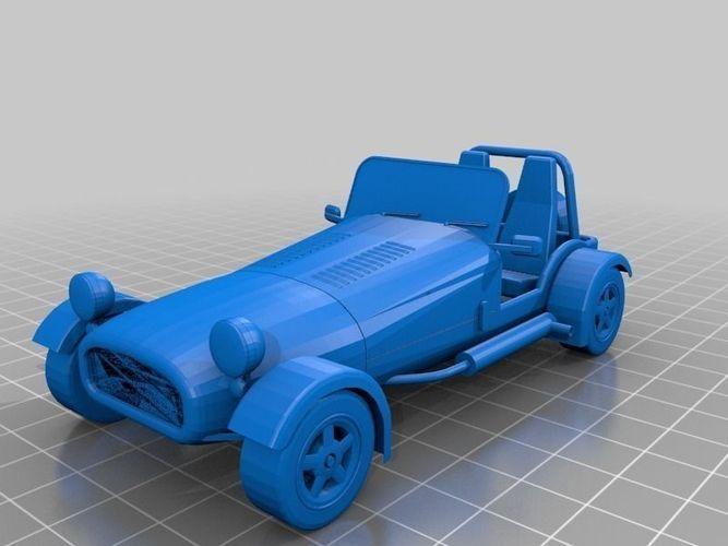 Caterham Super Seven 7 car for WeLoveCars ... free 3D ...
