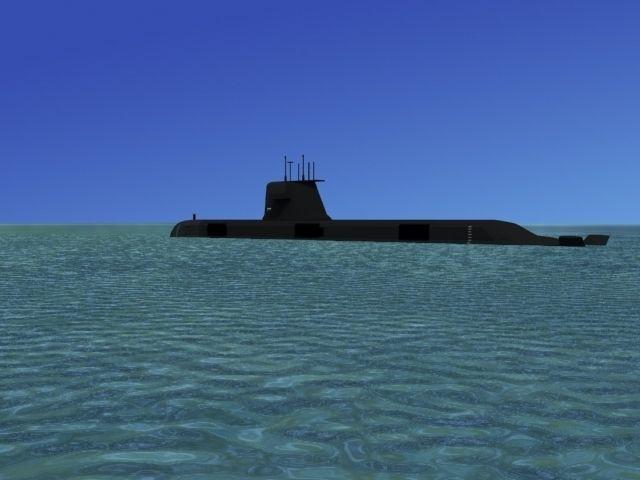 Collins Class HMAS Sheean 77