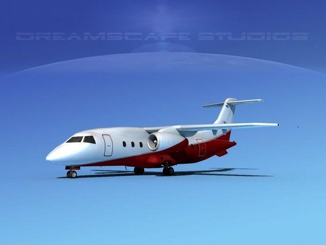 Dornier 328Jet Corporate 33D model