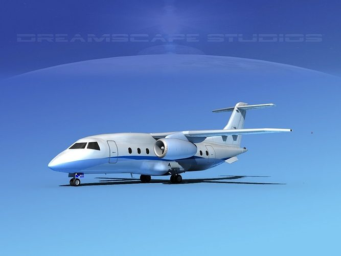 dornier 328jet corporate 5 3d model max obj 3ds lwo lw lws dxf 3dm 1