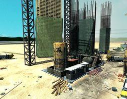 construction  site 3d