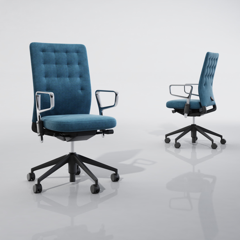 vitra id trim 3d model max obj 3ds fbx. Black Bedroom Furniture Sets. Home Design Ideas