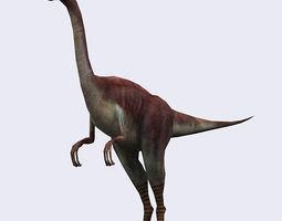 3DRT - Dinosaurs - Compsognathus 3D Model