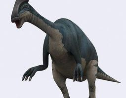 3DRT - Dinosaurs - Parasaurolophus 3D Model