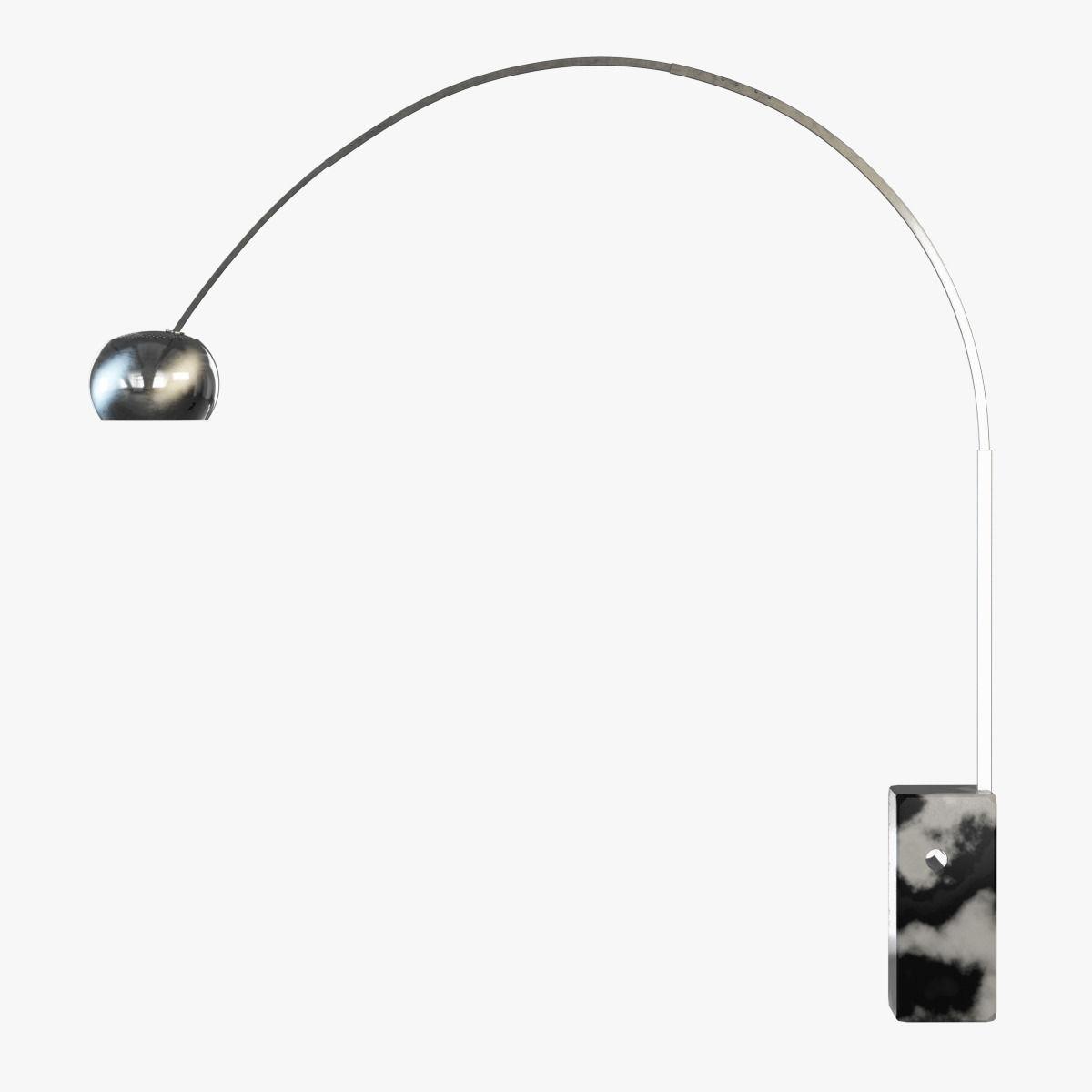 3d Floor Lamp Flos Arco Cgtrader