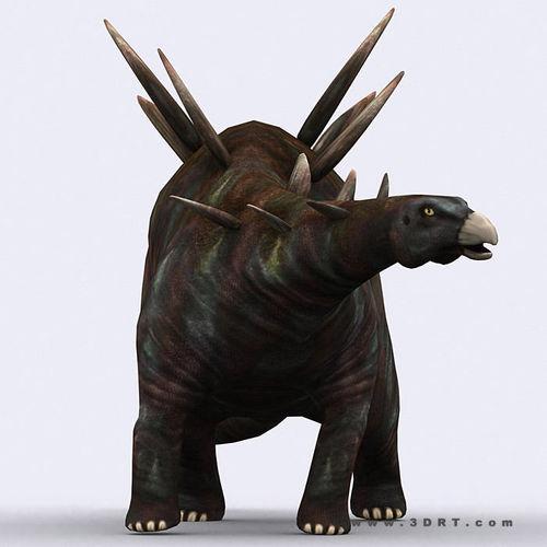 3DRT - Dinosaurs - Stegosaurus3D model