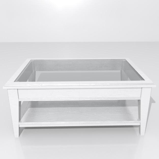 Ikea Coffee Table Millennium Falcon: LIATORP Coffee Table 3D Model .max