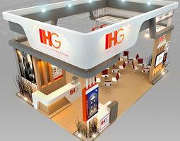 IHG Hotel Booth Design 3D Model