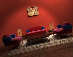 Sofa 3D models couch furniture