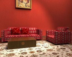 collection models armchair Sofa 3D
