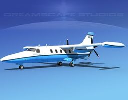 Dreamscape AF-44 Star Executive V02 3D Model
