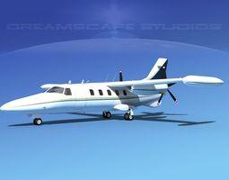 Dreamscape AF-44 Star Executive V04 3D Model